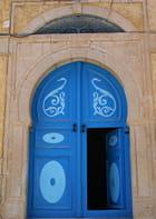 Porte en bleu - Hubert Guiziou