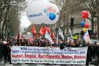 Manifestation des enseignants - Laurent GARRIC