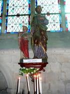 Statue de St Joseph et de l'enfant Jésus par Jacqueline DUBOIS sur L'Internaute