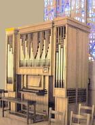 Savigny sur Orge, Sainte Thérèse, le petit orgue - Jean Claude ALLIN