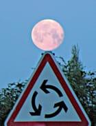 Coucher de lune par Jean SAUVAGET sur L'Internaute