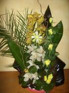 Bouquet jaune et vert par jacqueline Lacruz epouse Martinez sur L'Internaute