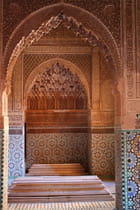 Tombeaux saadiens de marrakech - Pierre BACON