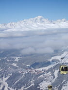 Mont Blanc depuis Meribel - florence guillemot
