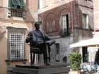 Statue du musicien - Claudine CREVOLA
