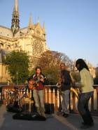 Musiciens de Jazz sur le Pont au Double - Gérard ROBERT