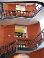 escalier de l'ancien hôpital militaire - HELENA DUHOO