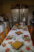 La table de Noêl le 25 décembre 2007 - Martine BOUSSAUD
