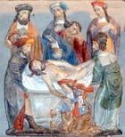 Basilique de Guingamp : mise au tombeau - christian fischer
