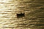 Barque au soleil couchant - Jacqueline BOSSÉ