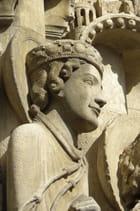 Statues colonnes de Chartres - Gérard ROBERT