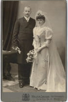 Mariage de mes grands parents en 1907 - Bahia. BENAMMAR