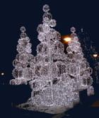 Arbres lumineux de Noël par Jean-Claude Brinette sur L'Internaute
