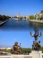Notre Dame vue du pont Alexandre III - Jean-pierre MARRO