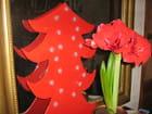 Harmonie de Noël, en rouge - marie-france waltispurger