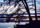 Soir d'hiver sur le lac - Thérèse MALIFARGE