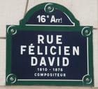 Rue Félicien David, à Paris - Gérard ROBERT