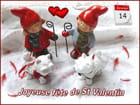 14/02/2016 - Joyeuse fête de St Valentin à toutes et à tous