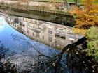 le miroir au dessus du pont  - catherine gaignon