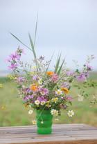 le bouquet de fleurs sauvages - Genevieve LAPOUX