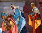 Arrivée des rois mages - André OUSTRIC