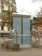 La fontaine de la place Paul Verlaine - ALAIN ROY