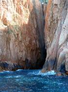 Calanches de Piana vues de la mer - evelyne renoux