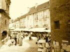 Ambiance du marché à Sarlat la Caneda - Tony DEMANGE