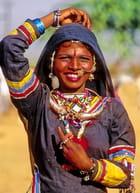 Jeune femme du Rajasthan par Alice AUBERT sur L'Internaute