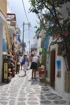 ruelle de Mykonos - Genevieve LAPOUX