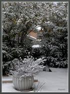 Neige le jardin - Huguette Roman