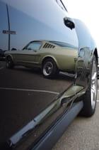 Reflet d'une Mustang - Franck BOUVIER