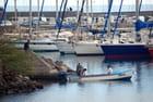 le port de Saint  Pierre - Genevieve LAPOUX
