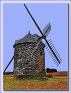 Moulin à vent de KERCOUSQUET - Serge AGOMBART
