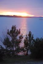 les reflets du coucher de soleil - Genevieve LAPOUX
