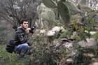 partir a la chasse, Enfaîte avec un appareil photo non pas avec un fusil - Ali Ziane