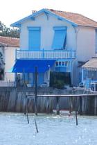 la maison bleue au bord du Bassin d'Arcachon - Genevieve LAPOUX