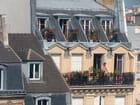 Sur les balcons - Christian VILLAIN