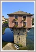 Le moulin du pont (version couleur) - ELISE MURIELLE CHAGNEAU