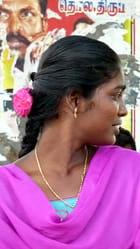Jeune Femme Indienne - dominique chevrel