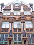 immeuble Art Nouveau - Genevieve LAPOUX