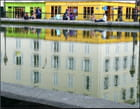 Soirée d'été, canal Saint-Martin - Yvette GOGUE