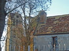 Clocher et vieux toit - Jean Claude ALLIN