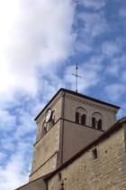 Un clocher dans le ciel bleu - Maryse ROZEROT