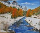 Neige et montagne - jean pierre alpino