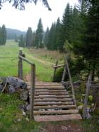 Passage pour randonneurs - Nadine PROST -ROMAND
