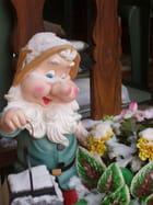 Nain de jardin sous la neige - Audrey CHRIST