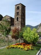 Eglise  en Andorre - Michel HECQUEVILLE