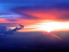 Coucher de soleil vu d'avion par André OUSTRIC sur L'Internaute