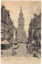 59 DUNKERQUE - La Rue de l'Eglise